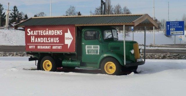 gammal lastbil