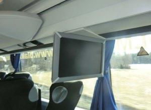Tv på bussen