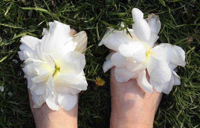 Blommande fötter