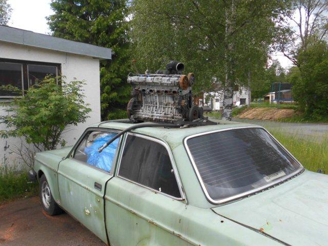 Motor på tak