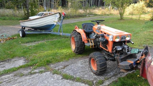 Mulle med båten