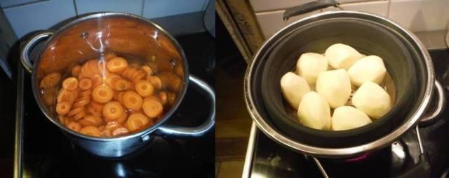 potatis och morötter