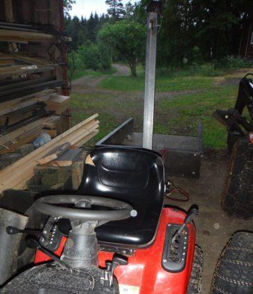 Trådgpårdstraktorn