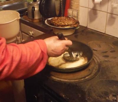 stekning